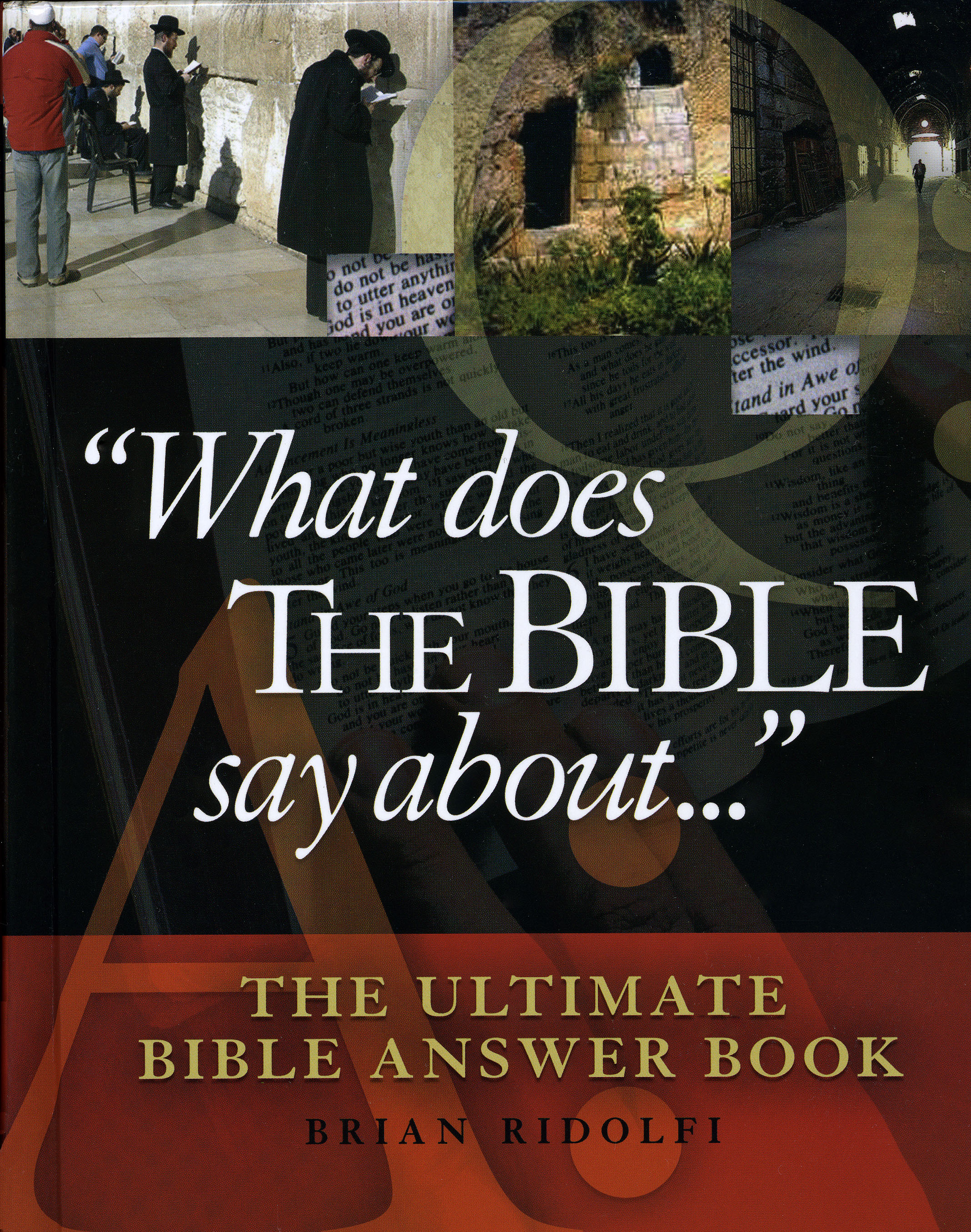 What Does The Bible Say About - Brian E. Ridolfi